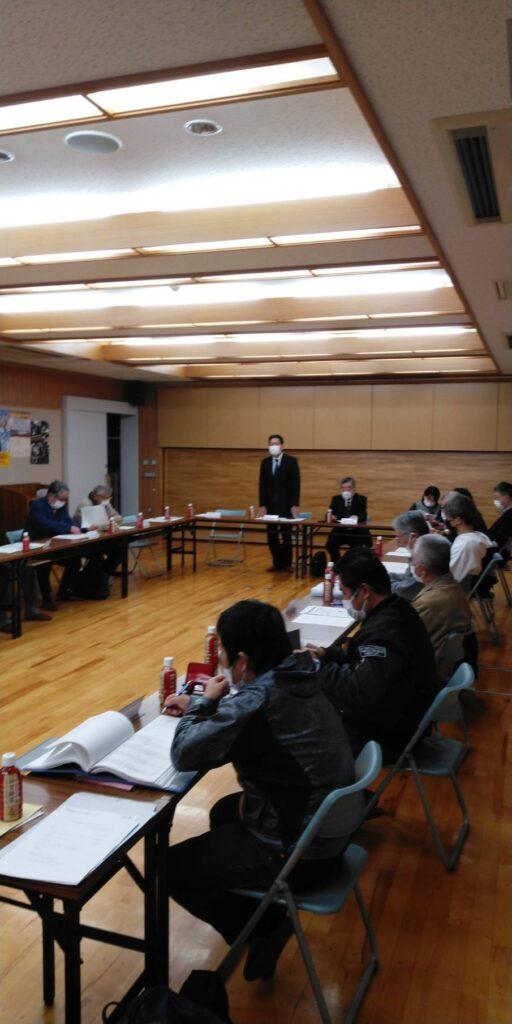 令和2年度第8回町会長会議を開催しました。
