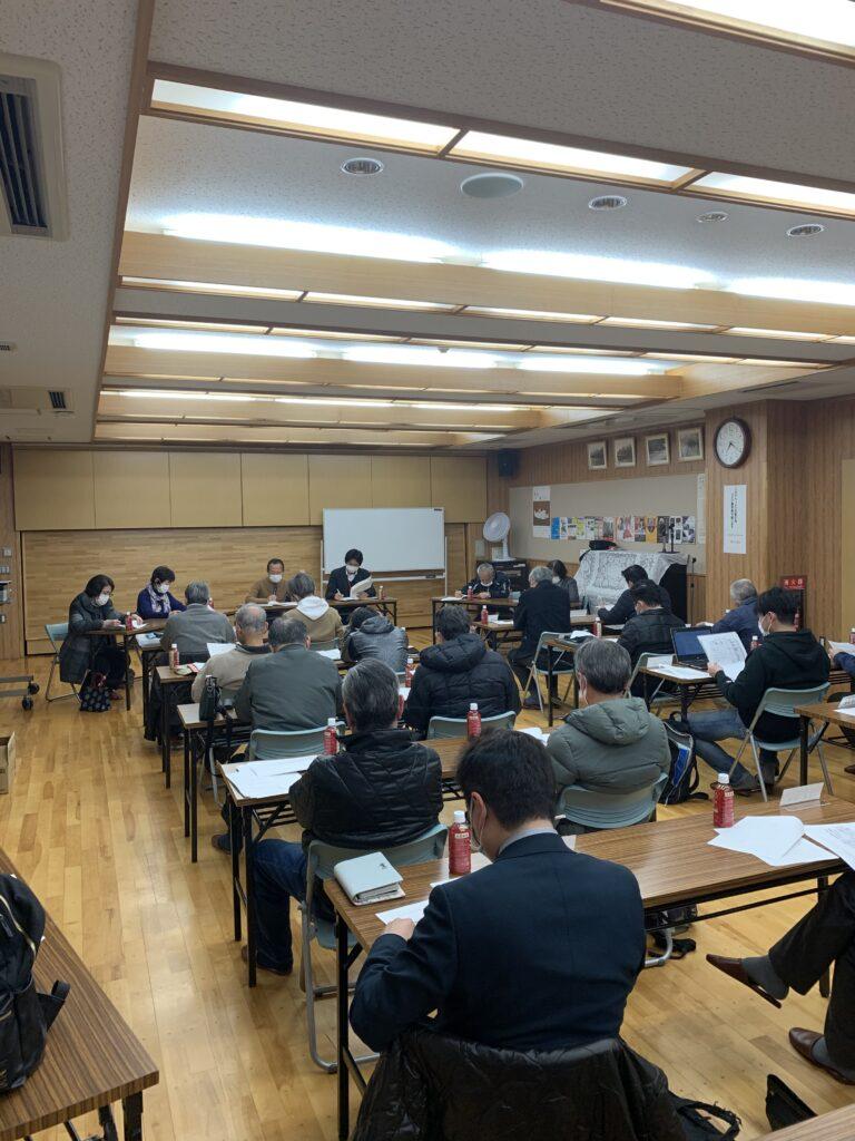 令和2年度第7回町会長会議を開催しました。